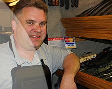 Kent Palmerton, Rolling Sharpening Stone owner/operator, serves North Metro Denver, Colorado