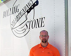 Rolling Sharpening Stone franchisee